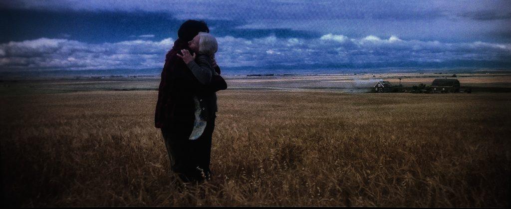 Jeff East y Phyllis Thaxter. Superman. (Warner Bros. 1978.)