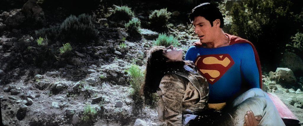 Margot Kidder y Christopher Reeve. Superman. (Warner Bros. 1978.)