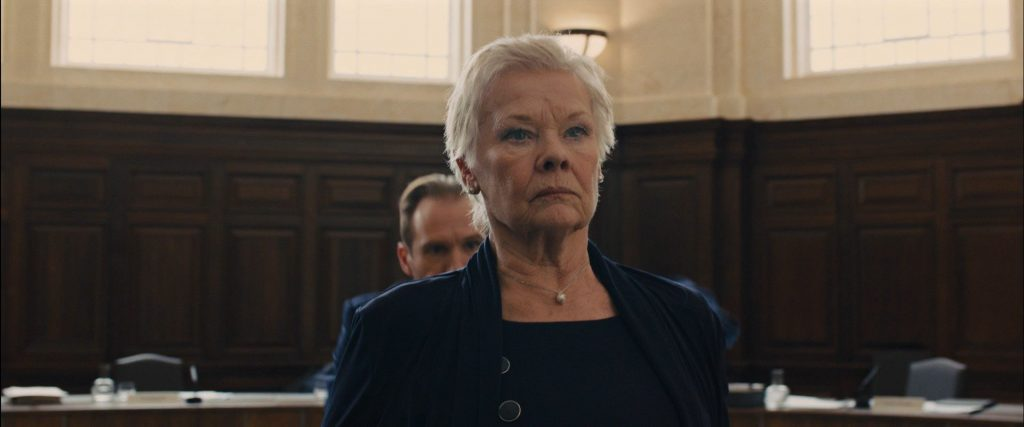 Judi Dench. (Skyfall. MGM, Columbia Pictures, EON Productions. 2012.)