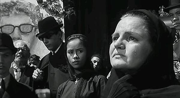 Vivian Nathan, Pilar Seurat y Luis Arroyo. (Los jóvenes salvajes. United Artists. 1961.)
