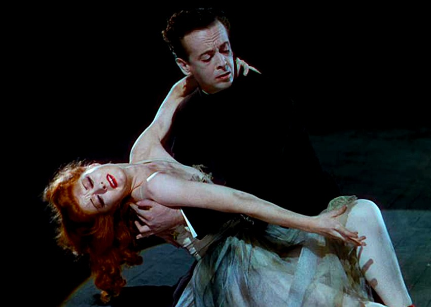 Moira Shearer y Robert Helpmann. (The red shoes. Independent Producers. 1948.)