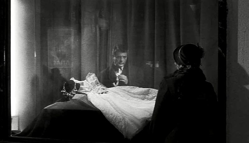 Maria Schell y Marcello Mastroianni. (Noches Blancas. Vides Cinematografica, Intermondia Films, Cinematográficas Cinematografica Associati. 1957.)