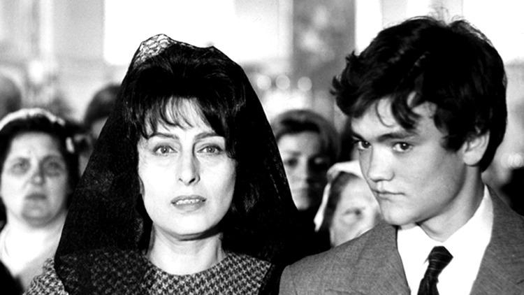 Anna Magnani y Ettore Garofolo. (Mamma Roma. Arco Film Roma. 1962.)