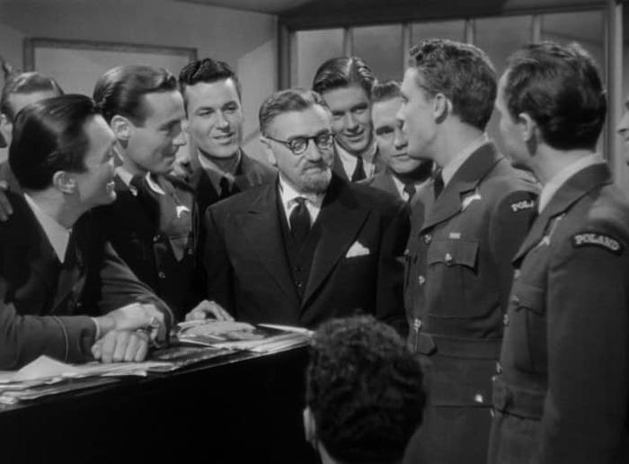 Stanley Ridges. (Ser o no ser. Romaine Film, Alexander Korda. 1942.)