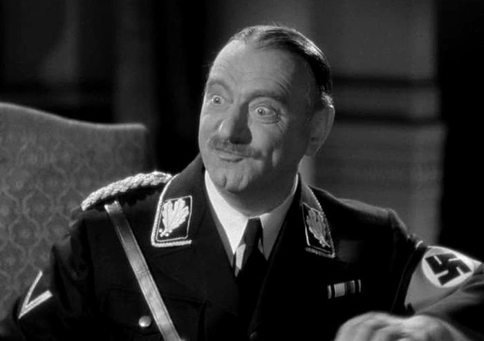 Sig Ruman. (Ser o no ser. Romaine Film, Alexander Korda. 1942.)