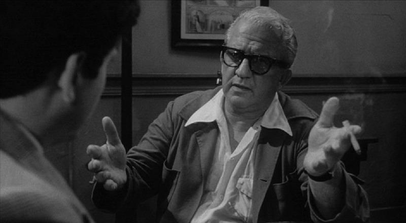 Nicholas Colasanto y Joe Pesci. (Toro salvaje. United Artists. 1980.)
