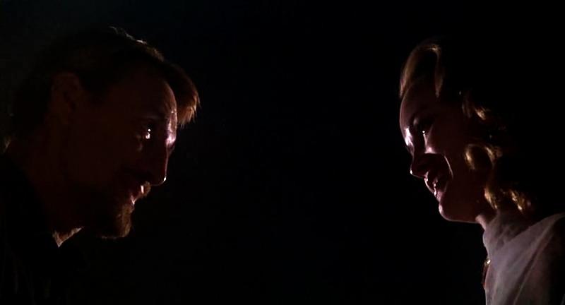 Jessica Lange y Roy Scheider. (All that jazz. Columbia Pictures, 20th Century Fox. 1979.)