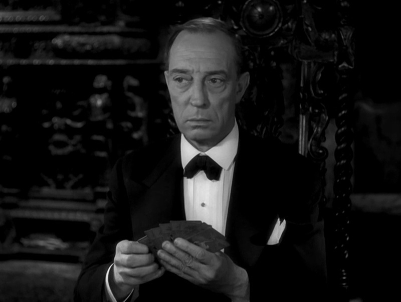 Buster Keaton. (Sunset boulevard. Paramount Pictures. 1950.)