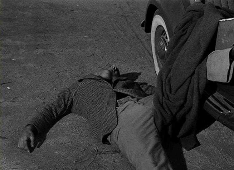 Timothy Carey. (The Killing. Harris-Kubrick Productions. United Artists. 1956.)