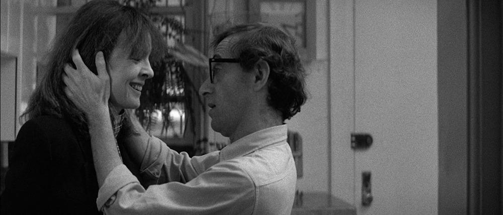 Diane Keaton y Woody Allen. (Manhattan. Jack Rollins & Charles H. Joffe Production, United Artists. 1979.)