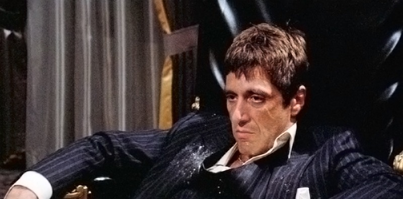 Al Pacino. (Scarface. Universal Pictures. 1983.)