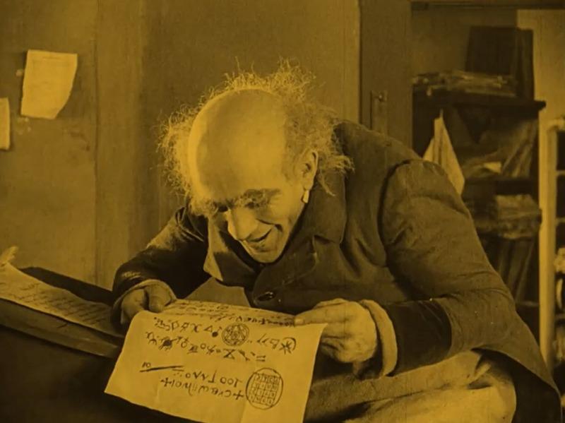 Alexander Granach. (Nosferatu. Prana-Film GmbH. 1922.)