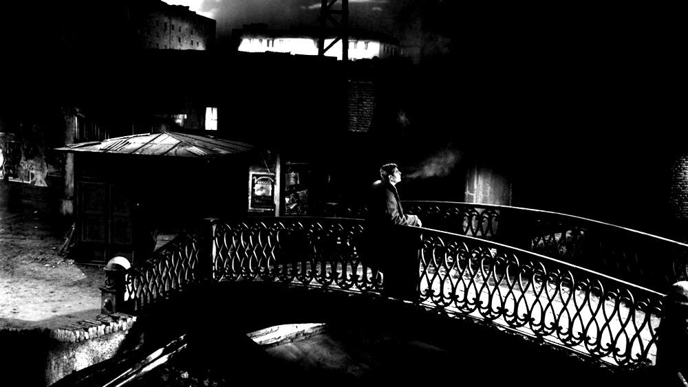 Marcello Mastroianni. (Noches Blancas. Vides Cinematografica, Intermondia Films, Cinematográficas Cinematografica Associati. 1957.)