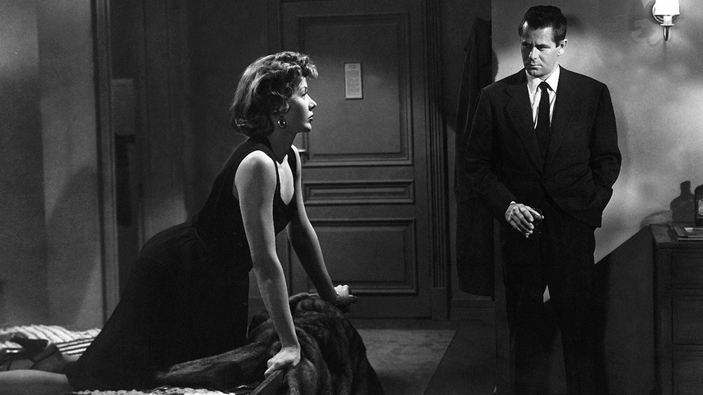 Gloria Grahame y Glenn Ford. (The big heat. Columbia Pictures. 1953.)