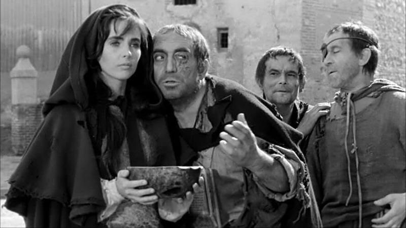 Millie Perkins y Antonio Ferrandis. (Dulcinea. Aspa Producciones Cinematográficas S.A, Nivifilm. 1963.)