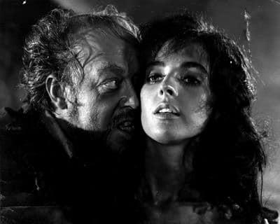 Millie Perkins y José Manuel Martín. (Dulcinea. Aspa Producciones Cinematográficas S.A, Nivifilm. 1963.)
