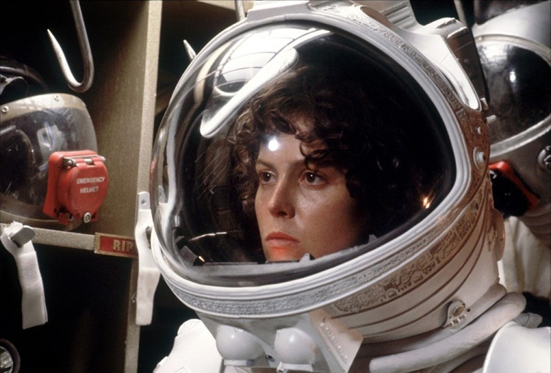 Sigourney Weaver.(Alien. 20th Century Fox, Brandywine Productions. 1979.)