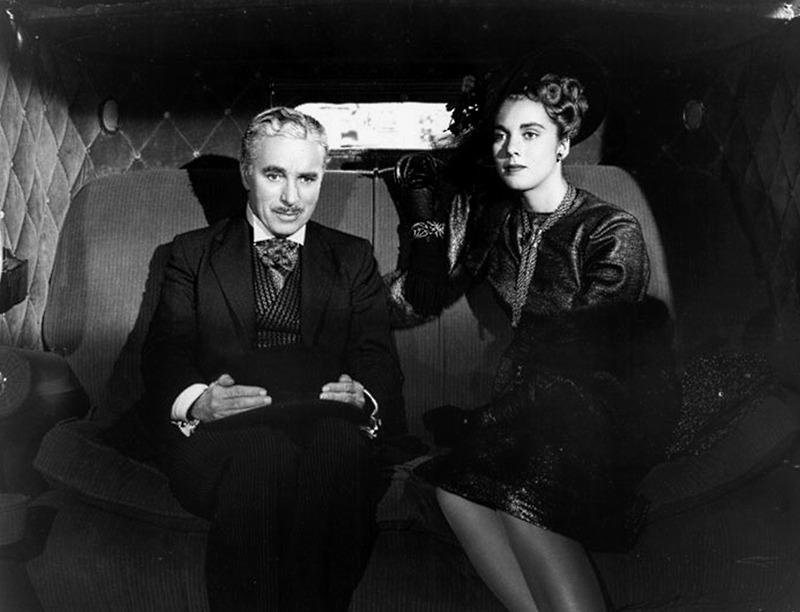 Marilyn Nash y Charles Chaplin. (Monsieur Verdoux. United Artists, Charles Chaplin Productions. 1947.)