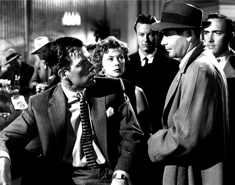Gloria Grahame, Lee Marvin y Glenn Ford. (The big heat. Columbia Pictures. 1953.)