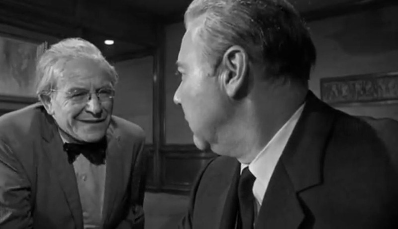 John Randolph y Will Geer. (Seconds. Paramount Pictures. 1966.)