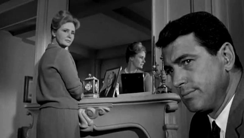 Frances Reid y Rock Hudson. (Seconds. Paramount Pictures. 1966.)