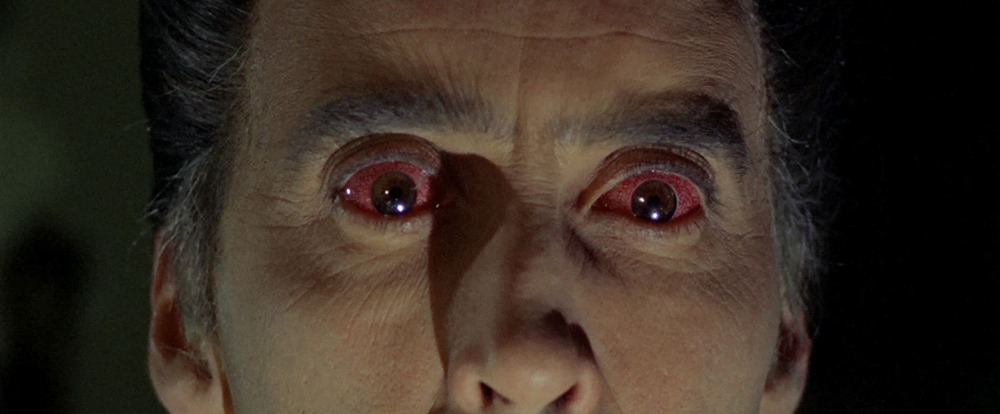 Christopher Lee. (Dracula, prince of darkness. Hammer Films. 1966.)