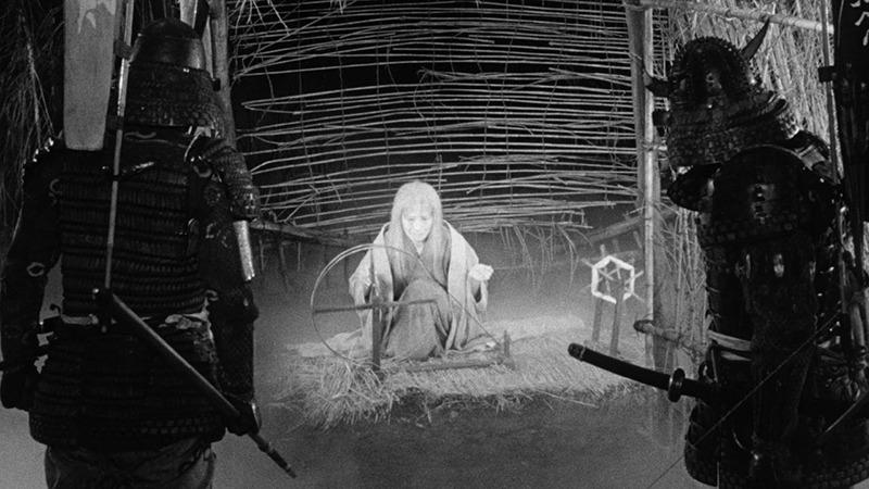 Chieko Naniwa. (Trono de sangre. Toho, Kurosawa Production Co. 1957.)