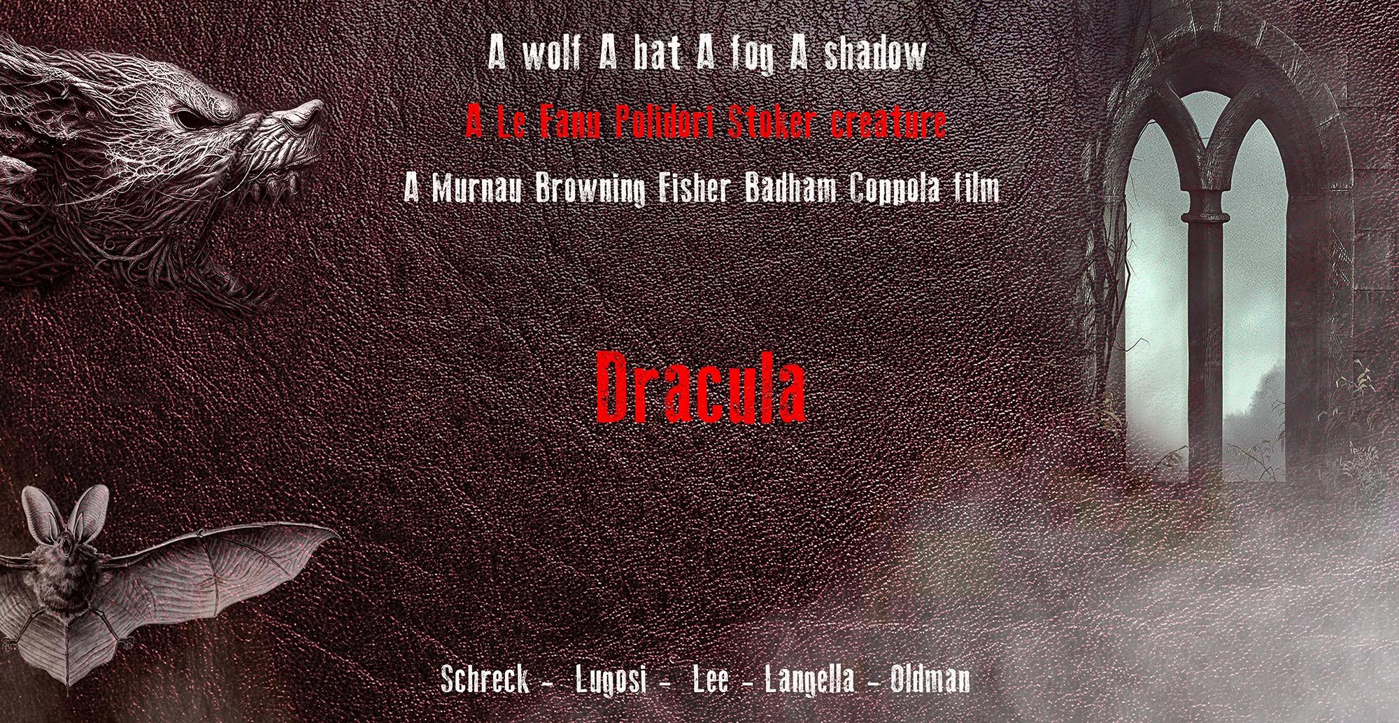 Cartel saga Drácula