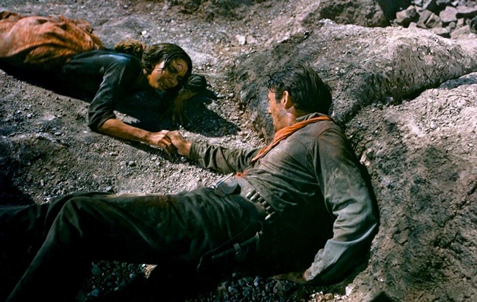 Jennifer Jones y Gregory Peck. (Duelo al sol. David O. Selznick. 1946.)