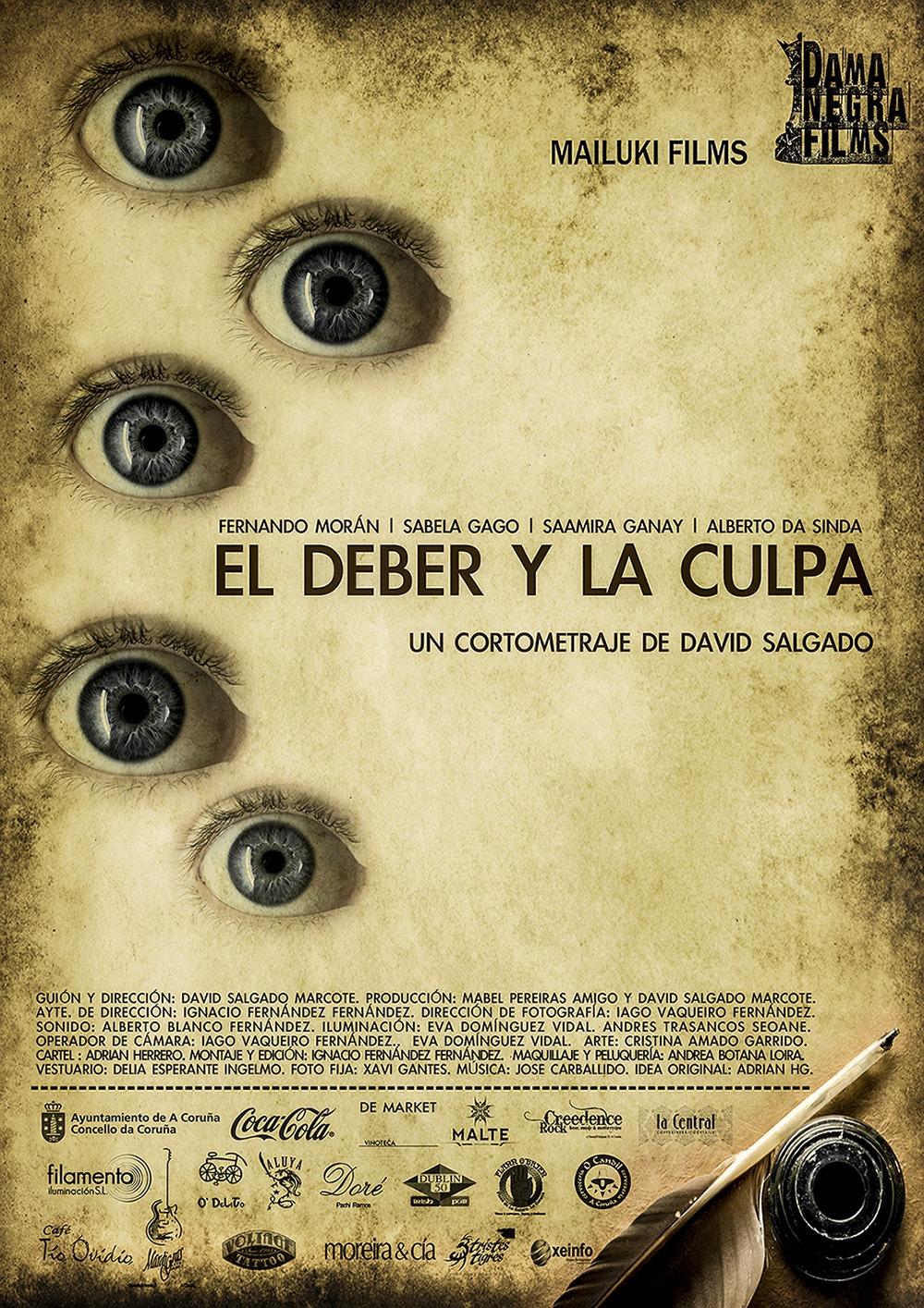 El deber y la culpa. (Dama Negra Films. 2012.)