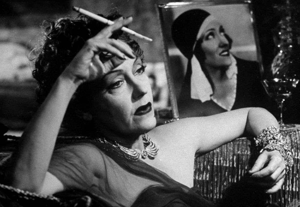 Gloria Swanson. (Sunset boulevard. Paramount Pictures. 1950.)