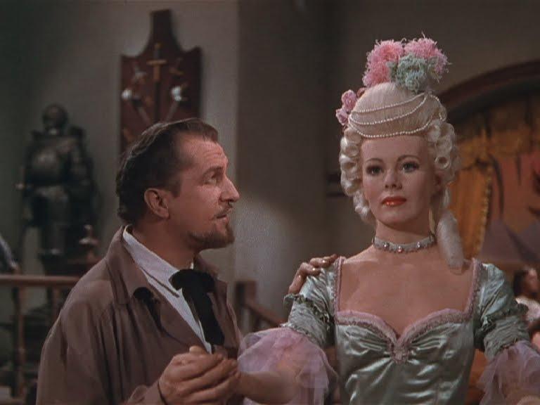 Vincent Price. (House of wax. Warner Bros. 1953.)