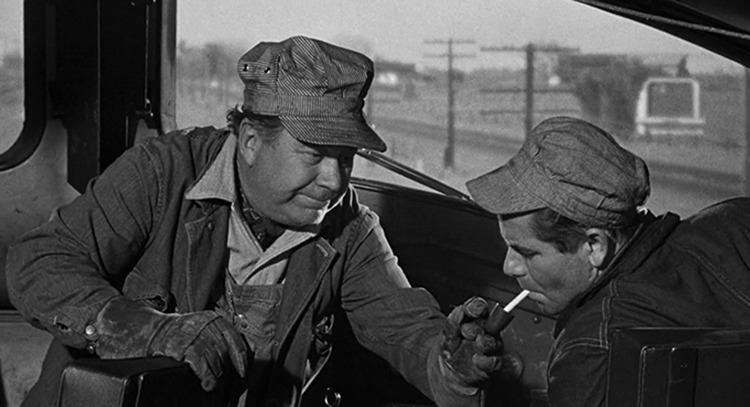 Edgar Buchanan. (Deseos humanos. Columbia Pictures. 1954.)