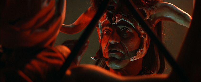 Amrish Puri. (Indiana Jones and the temple of doom. Paramount Pictures, Lucasfilm. 1984.)
