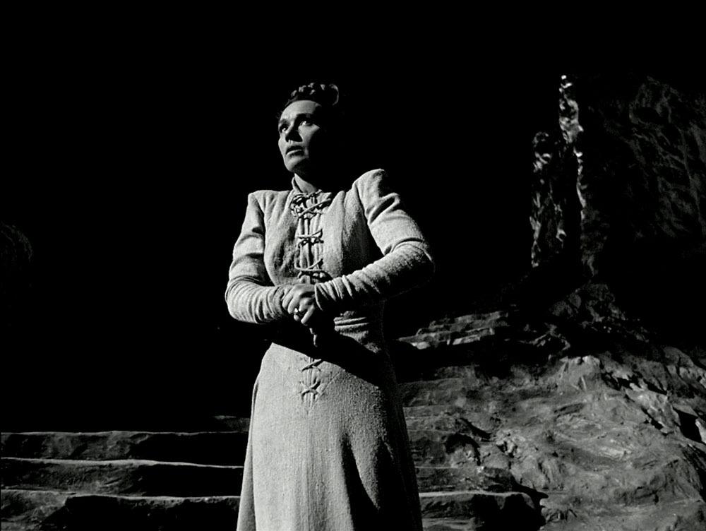 Jeanette Nolan. (Macbeth. Republic Pictures. 1948.)