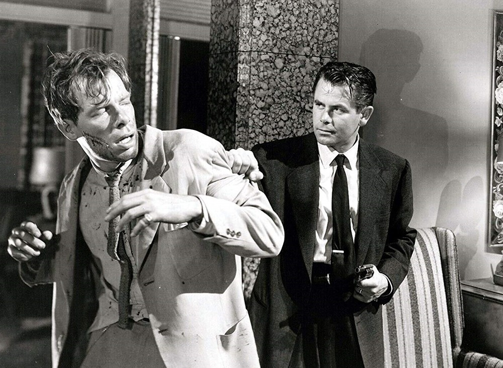 Lee Marvin y Glenn Ford. (The big heat. Columbia Pictures. 1953.)