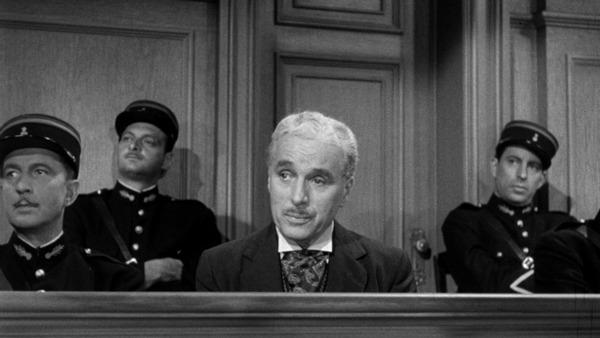 Charles Chaplin. (Monsieur Verdoux. United Artists, Charles Chaplin Productions. 1947.)