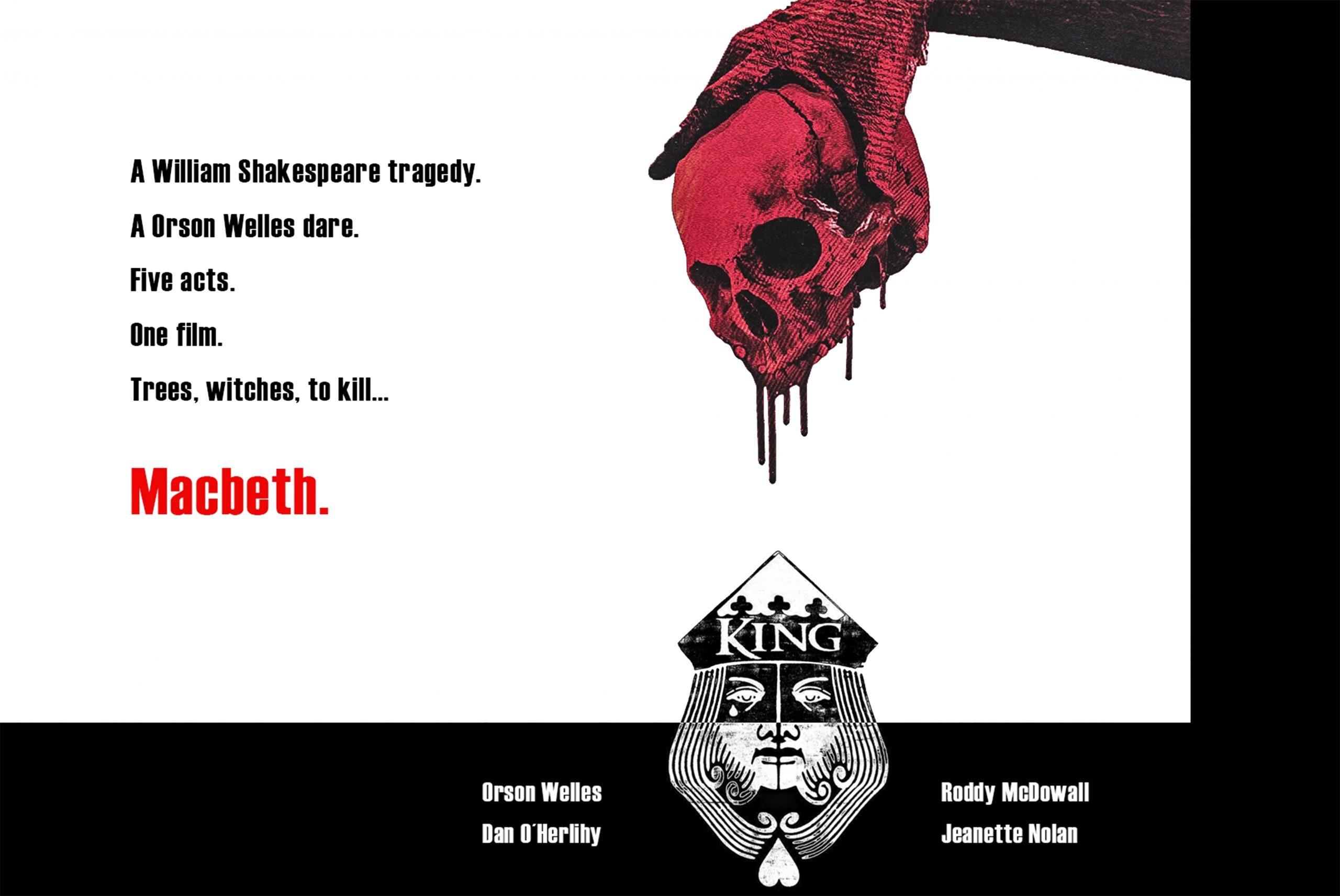 Macbeth. (Orson Welles. 1948.)