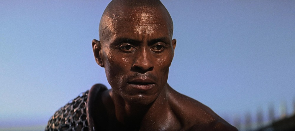 Woody Strode. (Espartaco. Bryna Productions, Universal Pictures. 1960.)