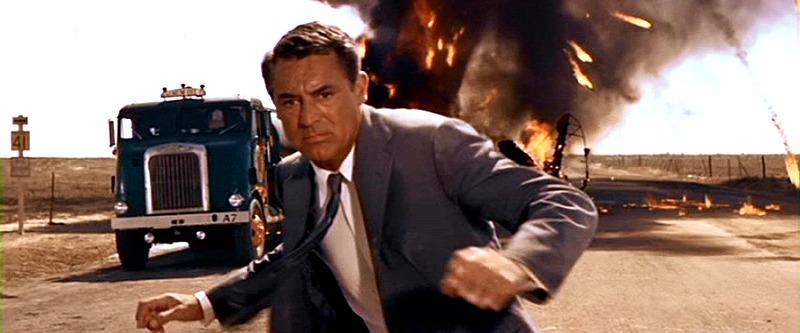 Cary Grant. (North by northwest. Metro-Goldwyn-Mayer. 1959.)