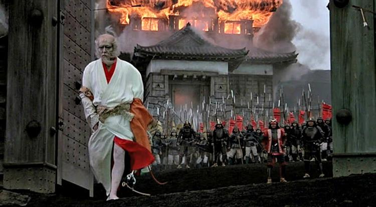 Tatsuya Nakadai. (Ran. Greenwich Film Productions, Herald Ace, Nippon Herald. 1985.)
