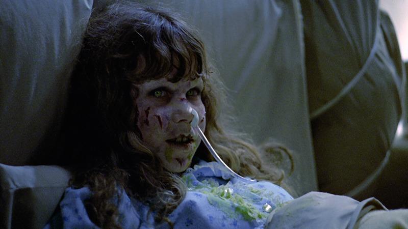 Linda Blair. (El exorcista. Warner Bros., Hoya Productions. 1973.)