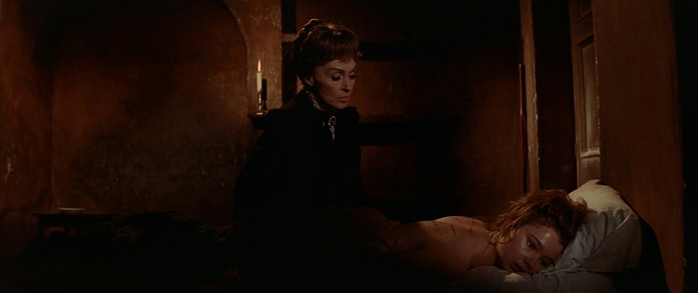 Lili Palmer. (La residencia. Anabel Films. 1969.)