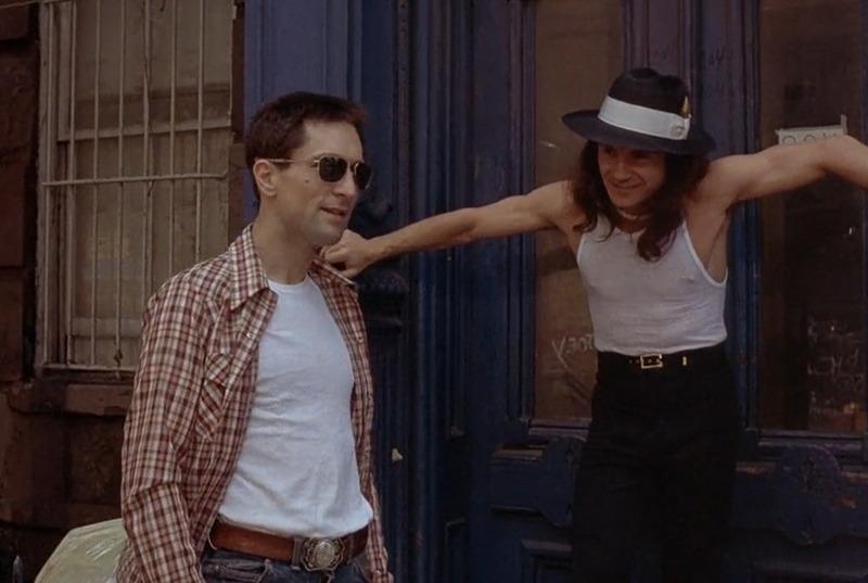 Harvey Keitel y Robert de Niro. (Taxi driver. Columbia Pictures. 1976.)