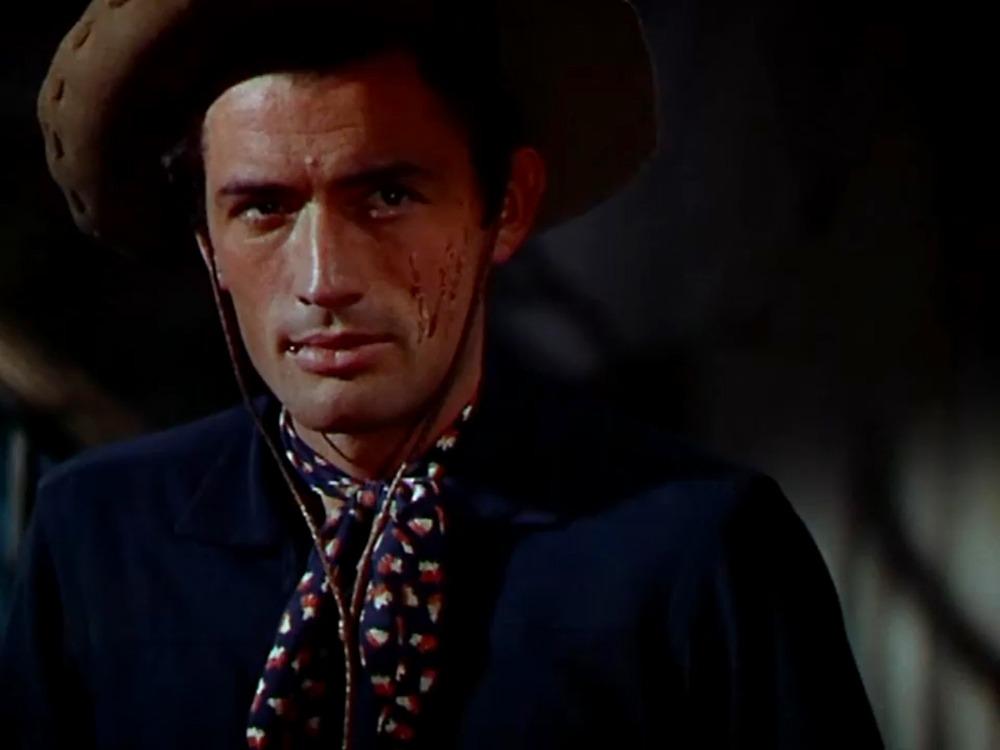 Gregory Peck. (Duelo al sol. David O. Selznick. 1946.)