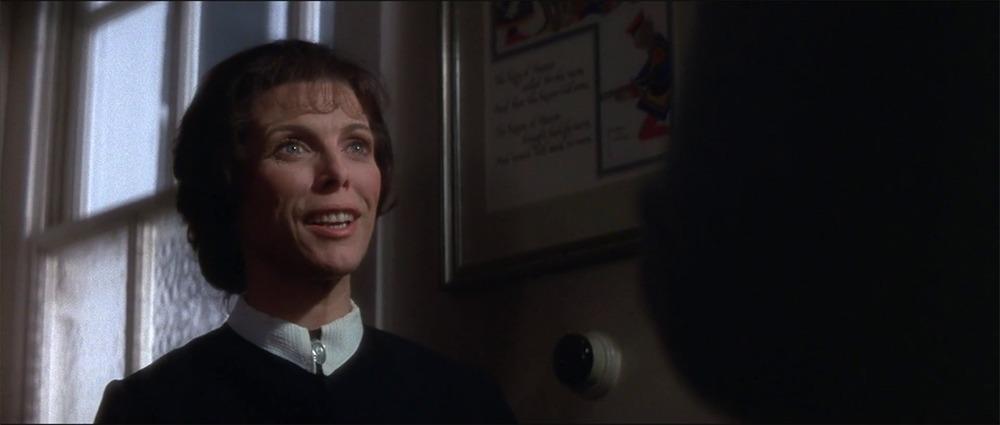 Billie Whitelaw. (La profecía. 20th Century Fox. 1976.)