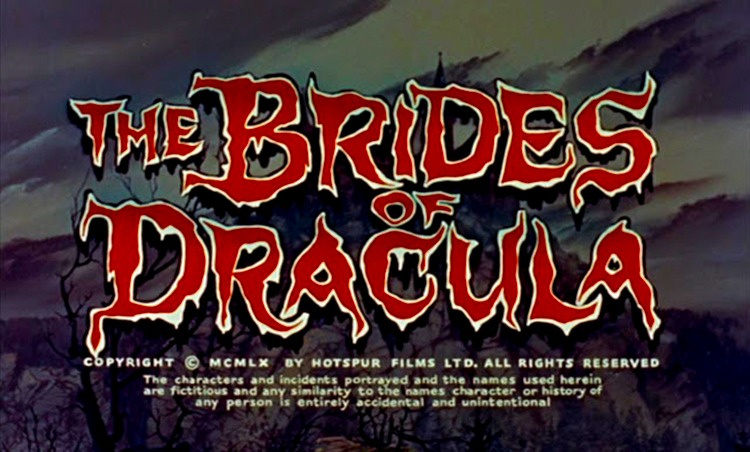 The brides of Dracula. (Hammer Productions. 1960.)