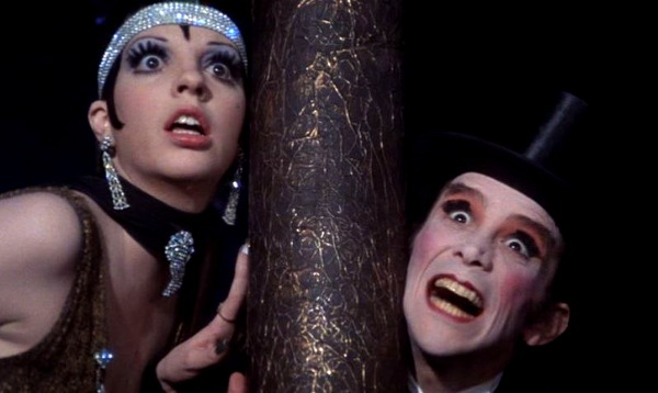 Liza Minnelli y Joel Grey. (Cabaret. Allied Artists, ABC Pictures. 1972.)