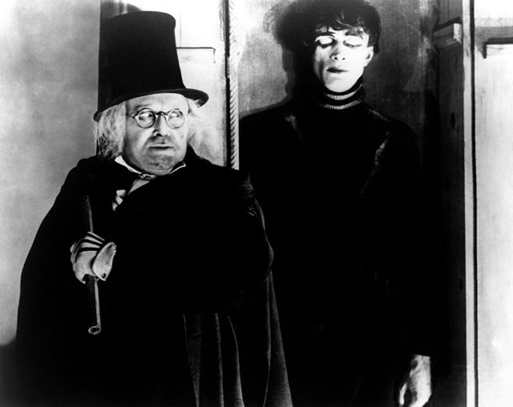 Werner Krauss y Conrad Veidt. (El gabinete del Doctor Caligari. Decla Film. 1920.)