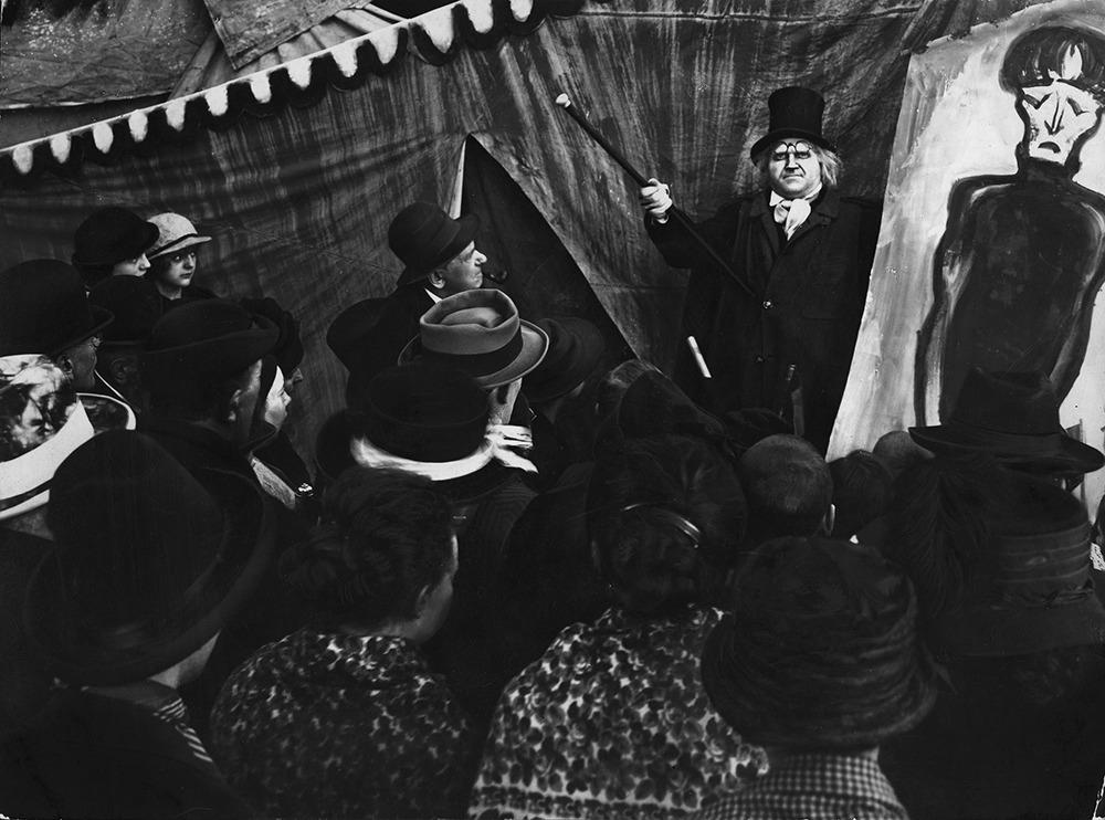 Werner Krauss. (El gabinete del Doctor Caligari. Decla Film. 1920.)